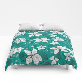 Avery Aqua Comforters