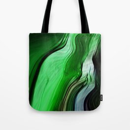 Liquid Grass Tote Bag