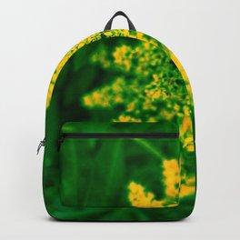 Yellow Sumac Bloom Backpack