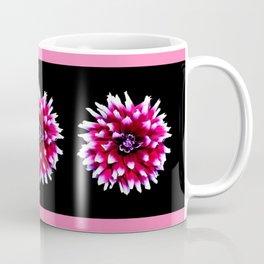 Dahlia in pink, red Coffee Mug