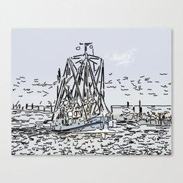 Cutter Canvas Print