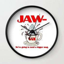 Jaw-va Wall Clock