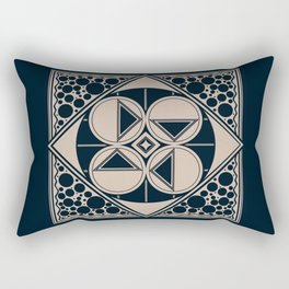 Dar Forma - Tan Rectangular Pillow