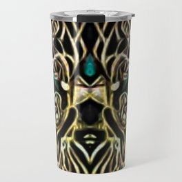 THE KINGS THROWN~ HE CONTROLS ALL Travel Mug