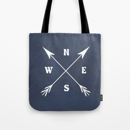 Compass arrows Tote Bag