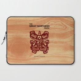 Great Northern Hotel Twin Peaks Laptop Sleeve