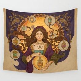 Lanterna magica Wall Tapestry