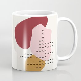 Big Shapes / Mountains Coffee Mug
