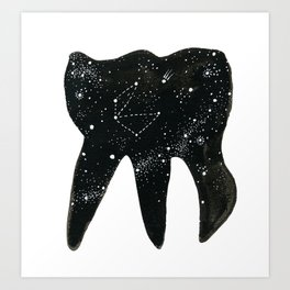 Cosmic Tooth Art Print