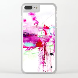 A Mystic Encounter No.1d by Kathy Morton Stanion Clear iPhone Case