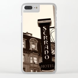 Serrano Hotel-San Francisco, California Clear iPhone Case