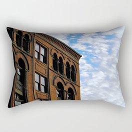 Corner of Main St. & Sky Rectangular Pillow