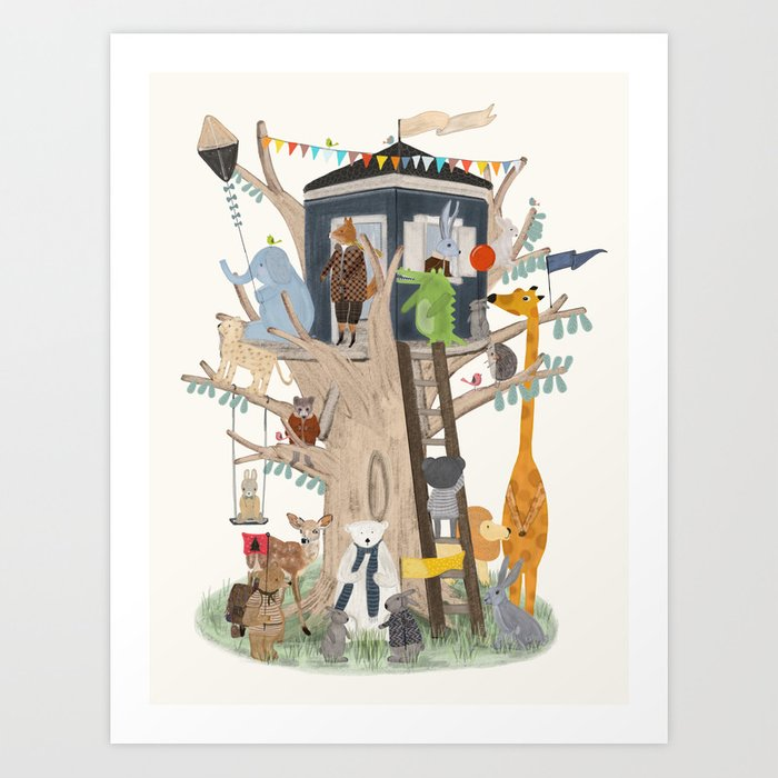 little playhouse Kunstdrucke