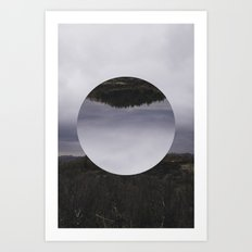 Nowhere Art Print