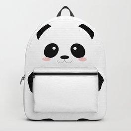 Cute Simple Panda Backpack