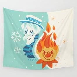 Christmas Nostalgia Wall Tapestry