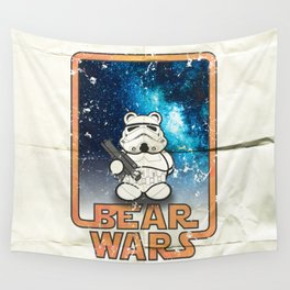 Bear Wars Vintage - Bear Trooper Wall Tapestry
