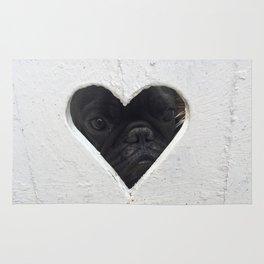 Peeking into your heart Rug