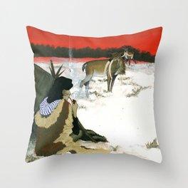 Inuit Mythology: Chapter 1, part 3 Throw Pillow