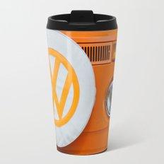 Volkswagen Orange Travel Mug