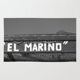 El Marino bw Rug