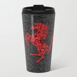 Homage to Ferrari Metal Travel Mug