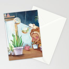 Musky Indoor Garden Stationery Cards