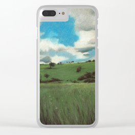 SKYLINE Clear iPhone Case