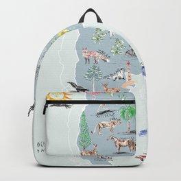 ARGENTINA ILUSTRADA Backpack
