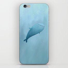 Cute Whale Shark iPhone Skin