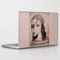 pirate Laptop & iPad Skins featuring Pirate by CokecinL