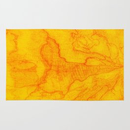 Nature map Rug