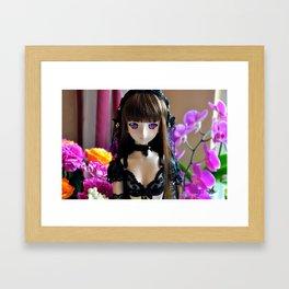 Cute & Sexy Anime girl Ayame Dollfie Dream Framed Art Print