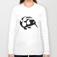 kiwi Long Sleeve T-shirts featuring Kiwi by mailboxdisco