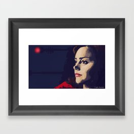 I am human Framed Art Print
