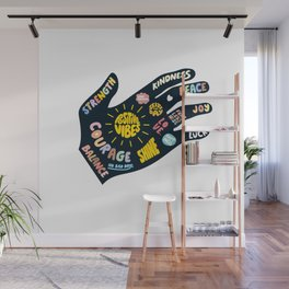 Positivity – Helping Hand Wall Mural