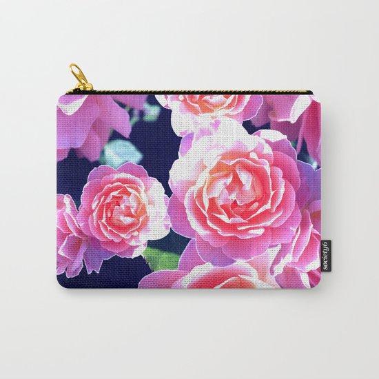 Floribunda Carry-All Pouch