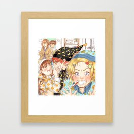 sleepover #3 Framed Art Print