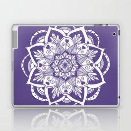 Ultraviolet Flower Mandala Laptop & iPad Skin