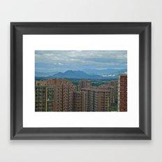 Beijing, China  Framed Art Print