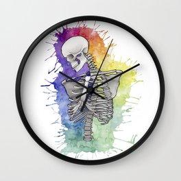 Todos tenemos un lado artistico Wall Clock