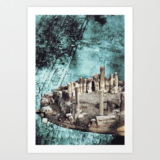Collage #38 Art Print