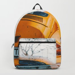 Yellow Taxi (Color) Backpack