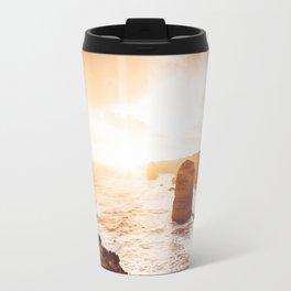 sunset at the twelve apostles Travel Mug