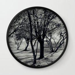 Shadow trees Wall Clock