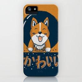 Loveable Corgi iPhone Case