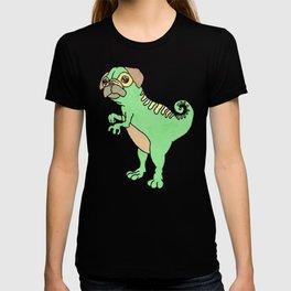 Mighty Pugasaurus Rex T-shirt