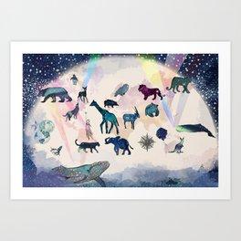 Of Star stuff we're made Art Print