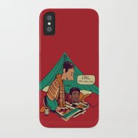 hobbes iPhone & iPod Cases featuring Troy & Abed's Dope Adventures by Megan Lara