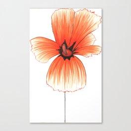 Poppy!! Canvas Print